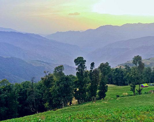 Trekking routes to Kheerganga