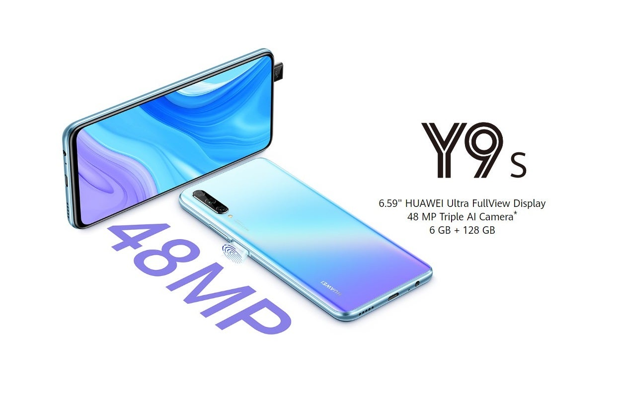 Photo of Huawei Y9S Launched With A Side-Mounted Fingerprint Reader and A Pop-up Camera