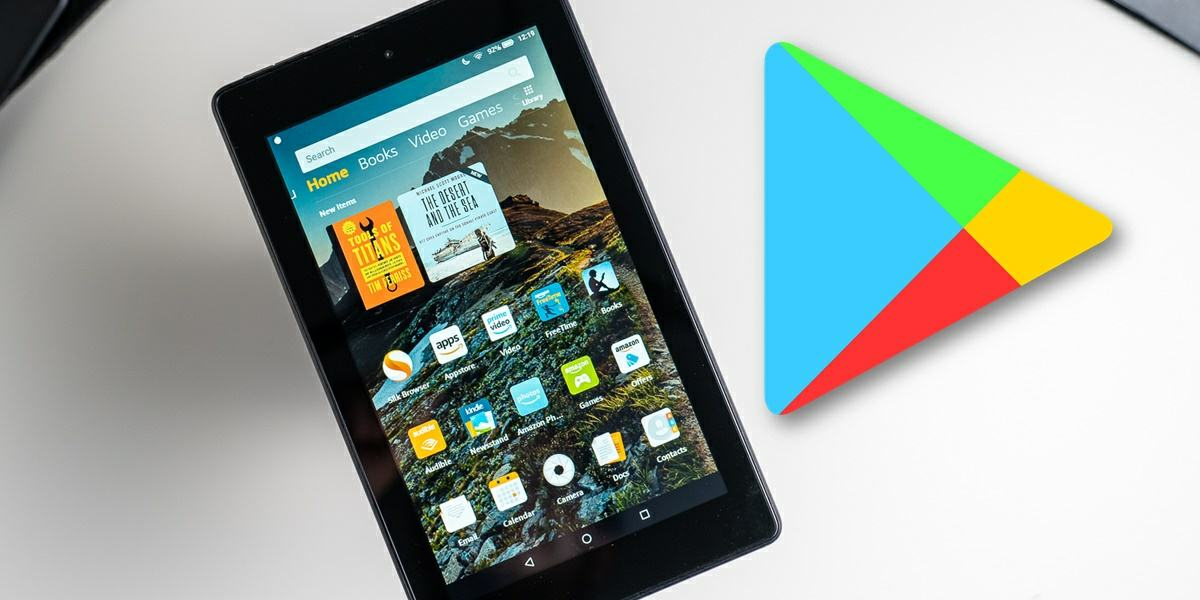 Google Play on Amazon Fire