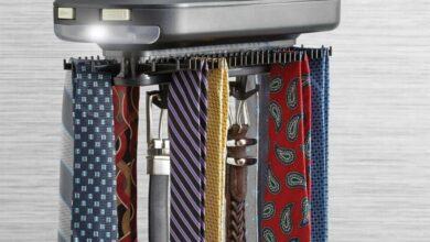 Organize Ties Belt Rack