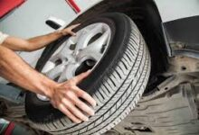 Photo of Some warning signs that the tires of the car need replacement