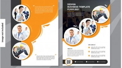 flyer business template cover brochure corporate 45327 943