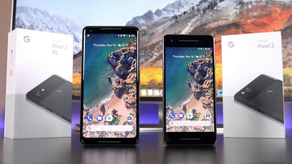 Google Pixel 2 and Google pixel 2XL