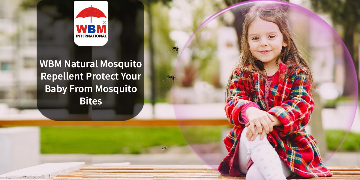 Photo of WBM Natural Mosquito Repellent Protect Your Baby From Mosquito Bites