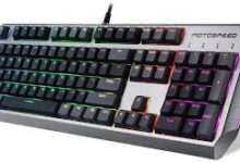 Photo of Get esports MOTO SPEED CK80 Wired Mechanical Gaming Keyboard Online
