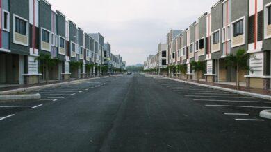 architecture asphalt buildings 250659