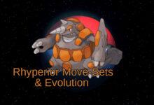 Rhyperior , Rhyperior movesets, Rhyperior weakness