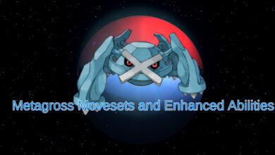 metagross, metagross moveset