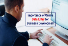 Online data entry for business development 1