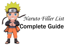 Naruto FIller List