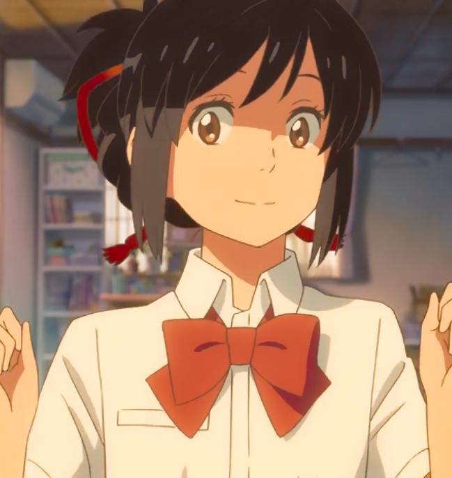 Miyamizu Mitsuha anime pfp